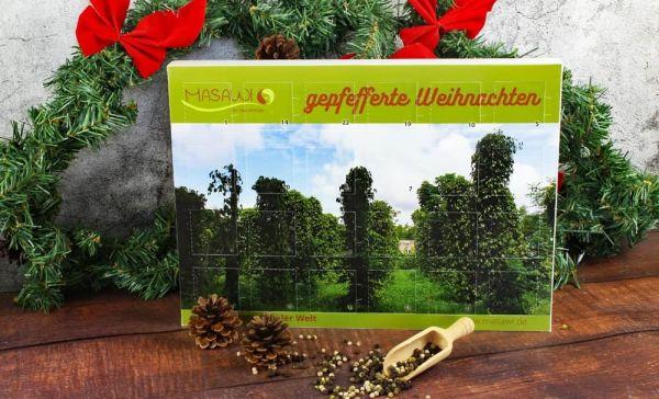 """Adventskalender 2021 """"gepfefferte Weihnachten"""" 24 wilde Pfeffer"""