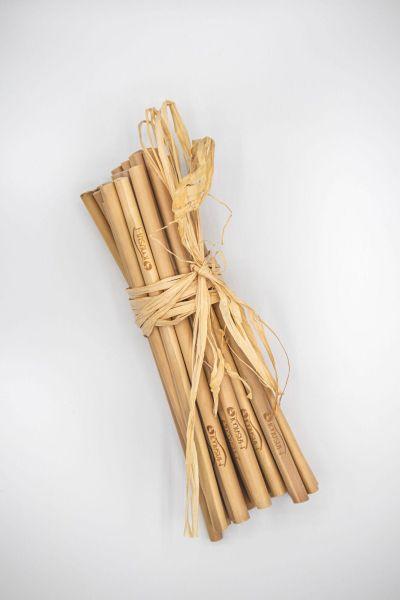 Premium Bambus-Trinkhalme Cocktail
