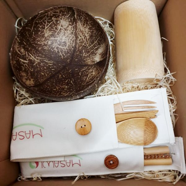 Geschenk-Set Bambus Starter Kit