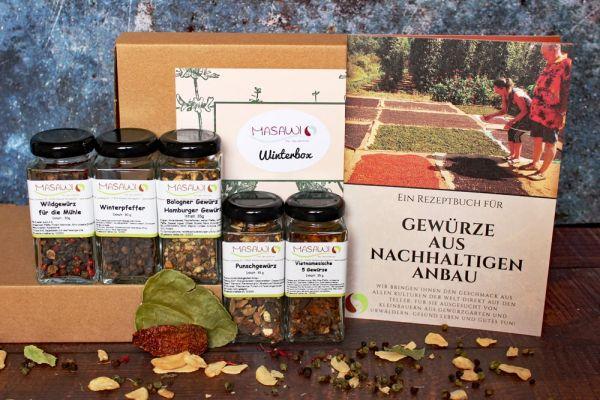 Winterbox, Geschenkbox, Gewürzbox