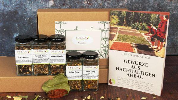 Currybox, Geschenkbox, Gewürzbox