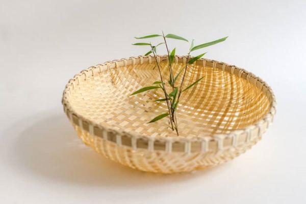 Bambussieb, Kräuterkorb, Gartenkorb