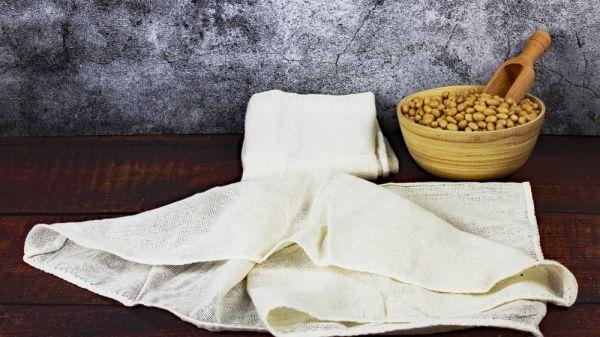 Tofu-Käse Tuch, Abseihtuch, Passiertuch, Nussmilchtuch