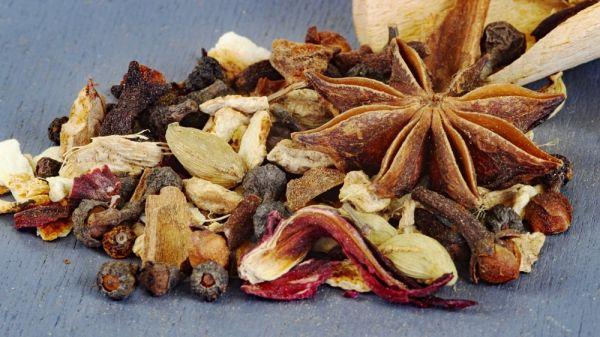 Aromatisches Punschgewürz, Glühweingewürz mit Vanille