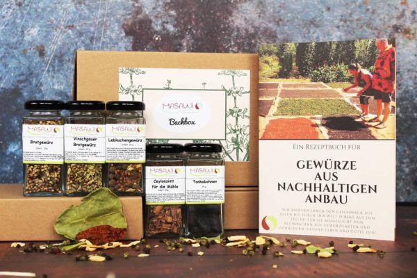 Backbox, Gewürzbox , Geschenkbox + Rezeptheft