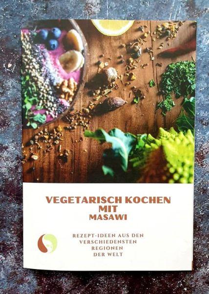 """Rezeptheft """"Vegetarisch kochen mit Masawi"""""""
