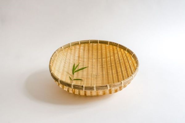 Bambus-Reiskörbe, Bambussieb, Gartenkorb,35 cm