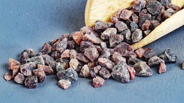 Kala Namak - grob Schwarzes Indisches Salz, für Vegan Food